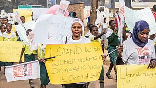 Ugandans protest surge in violence against women
