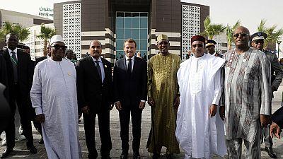 Mini-sommet des pays du G5 Sahel avec Macron en Mauritanie