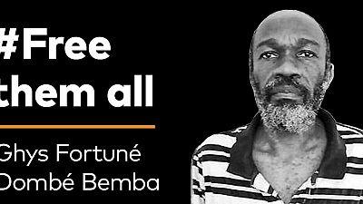 Congo : une ONG plaide pour une liberation définitive du journaliste Dombé-Bemba