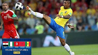 Top scorers meet best defence in Brazil v Belgium clash