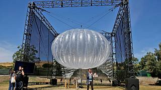 Kenya to use Google's balloons for rural internet