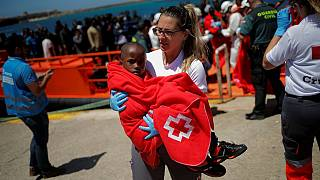 12 kids among 70 migrants rescued by Spanish coastguard