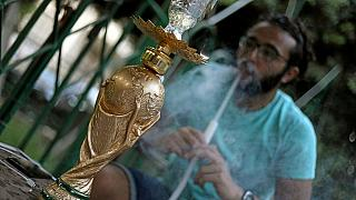 WC 2018: Egyptian soccer fans find solace in trophy-shaped 'hookah'