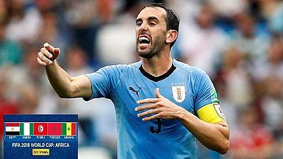 Mondial 2018-Quarts de finale : Diego Godin salue l'exploit de ses coéquipiers malgré l'élimination