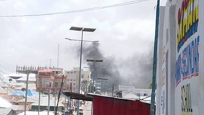 Two blasts hit Somalia's security ministry