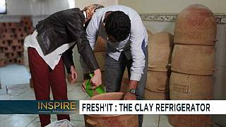 #WhatInspiresAfrica: 23 year old Moroccan engineer develops a clay based power-less refrigerator