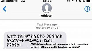 Ethiopia-Eritrea phone lines reopen, first time since 1998