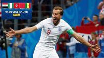 World Cup: England (1) vs Croatia (2)