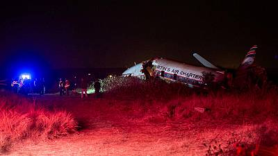 Charter plane crashes in South Africa, death and injuries reported