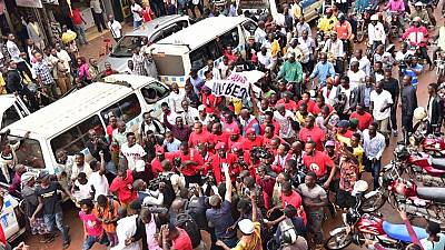 Bobi Wine leads Ugandans in protest against social media tax