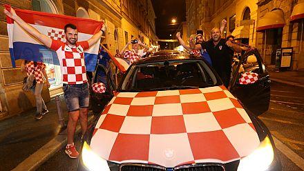Mandzukic sends Croatia into first World Cup final (England 1, Croatia 2)
