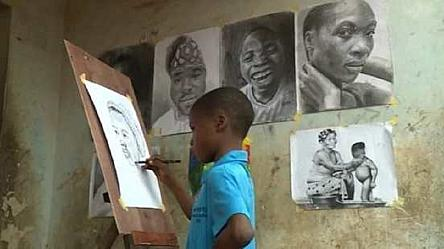 Nigeria's youngest hyper-realism artist gains popularity for his work [No Comment]