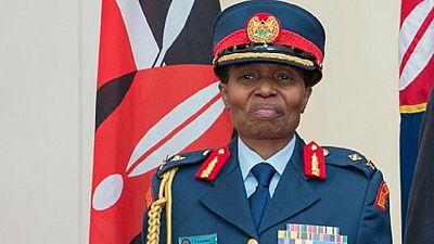 Kenya : enfin une femme promue au grade de général