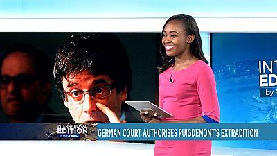 Un tribunal allemand autorise l'extradition de Puigdemont [International Edition]