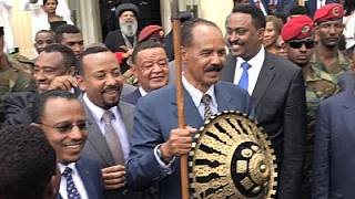 Photos: Eritrea president honoured by Ethiopia's Oromia region