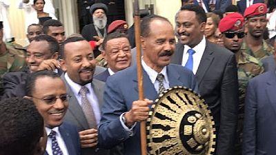 Photos: Eritrea president honoured by Ethiopia's Oromia region