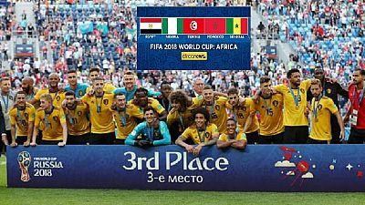 Russia 2018 third-place match: Belgium (2) England (0)