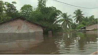 Cote d'Ivoire : Aboisso sous les eaux, 200 familles évacuées