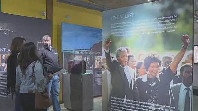 ''Mandela rejetterait Trump'' (petit-fils)