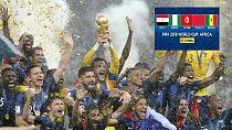 Mondial 2018 : des dirigeants africains célèbrent la victoire de la France