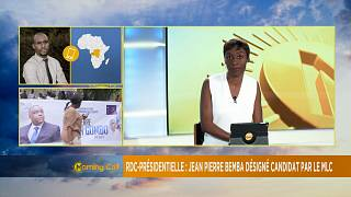 Jean Pierre Bemba named as presidential candidate in DRC [The Morning Call]
