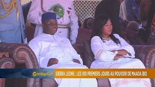Sierra Leone's president marks 100 days in office [The Morning Call]