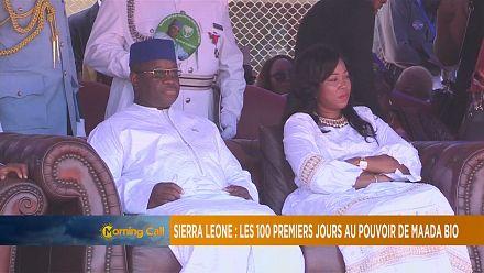 Sierra Leone's president marks 100 days in office [The Morning Call]
