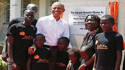 Obama end 2-day visit to Kenya, calls for political unity in the country