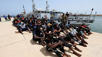 Eight migrants found dead in lorry container in western Libya