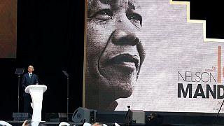 [Photos] Obama, promoteur des idées de Mandela à Johannesburg