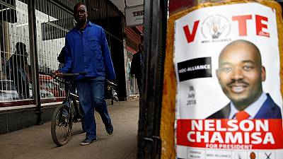 Zimbabwe's opposition appeals to SADC ahead of election