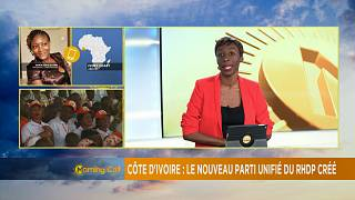 Côte d'Ivoire: le nouveau parti unifié du RHDP créé [The Morning Call]