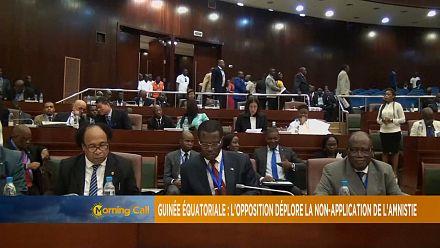 Guinée Équatoriale : l'opposition déplore la non-application de l'amnistie [The Morning Call]