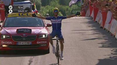 Tour de France : Alaphilippe s'offre la dixième étape, première victoire française