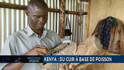 Le cuir de poisson fait appel au sens de la mode et de la fierté au Kenya [Business Africa]