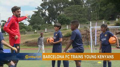 Le FC Barcelone mise sur les jeunes footballeurs de Nairobi [Grand Angle]