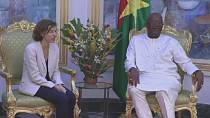 Burkina Faso : Florence Parly reçue par Kaboré