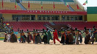 Arts martiaux au Sénégal : inauguration d'une nouvelle arène de lutte