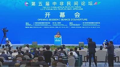 5th China- Africa people's forum opens in Chengdu