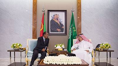 Eritrean president in Saudi Arabia, holds bilateral talks with King Salman