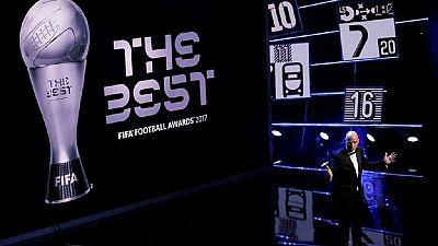 Egypt's Mohamed Salah nominated for FIFA best player award