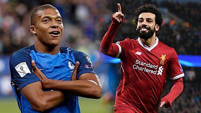 Mbappe et Salah en lice pour le prix meilleur joueur de la FIFA
