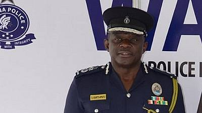 Ghana IGP interdicts policeman over assault on schoolboy