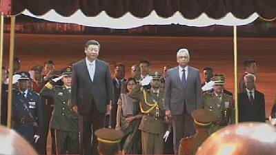Xi 'looks forwards' to deepening bilateral relations with Mauritius