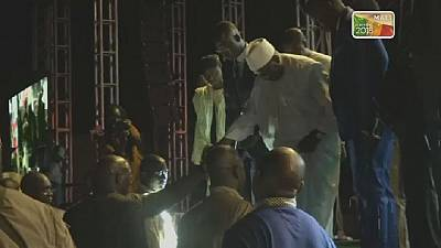 Au Mali, Ibrahim Boubacar Keïta tient son dernier meeting de campagne
