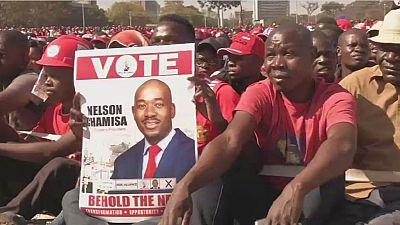 Élections au Zimbabwe : l'opposant Chamisa certain de sa victoire