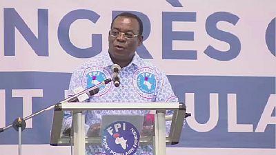 Côte d'Ivoire : Pascal Affi N'Guessan réélu à la tête du parti du FPI, toujours divisé