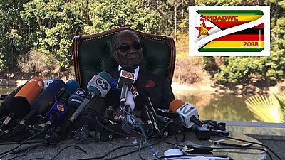 Robert Mugabe ne votera pas pour Emmerson Mnangagwa