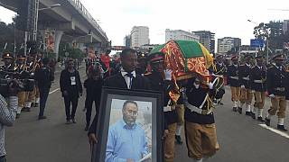 Protests as Ethiopia holds funeral for Nile dam engineer
