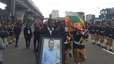Ethiopia buries slain architect of Grand Renaissance Dam